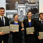 The CFA Society of Hungary organized student competition at the Budapest Stock Exchange on Friday, January 24, 2014