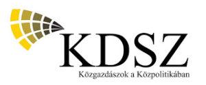 TÁV KDSZ program 2020 tavasz