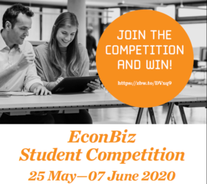 EconBiz student competiton 2020 plakát