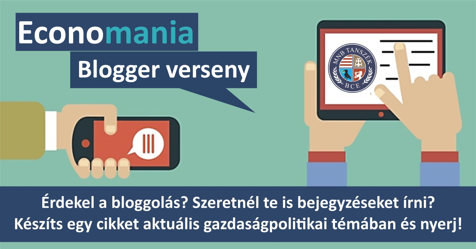MNB Tanszék blogger verseny Corvinus Egyetem