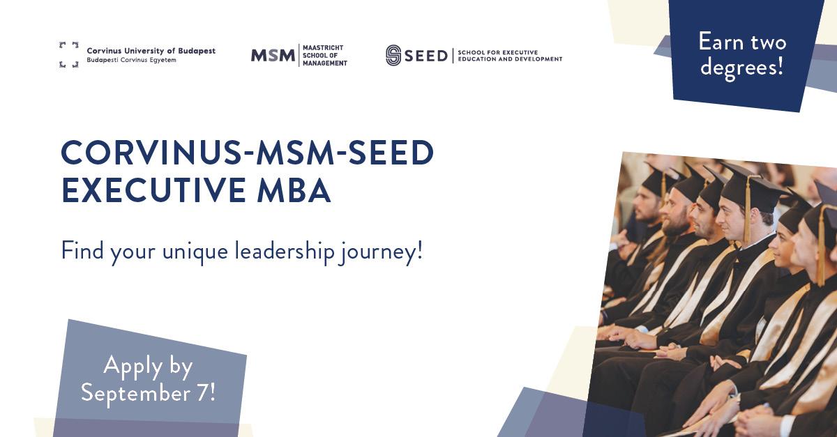 Corvinus MSM Seed Executive MBA