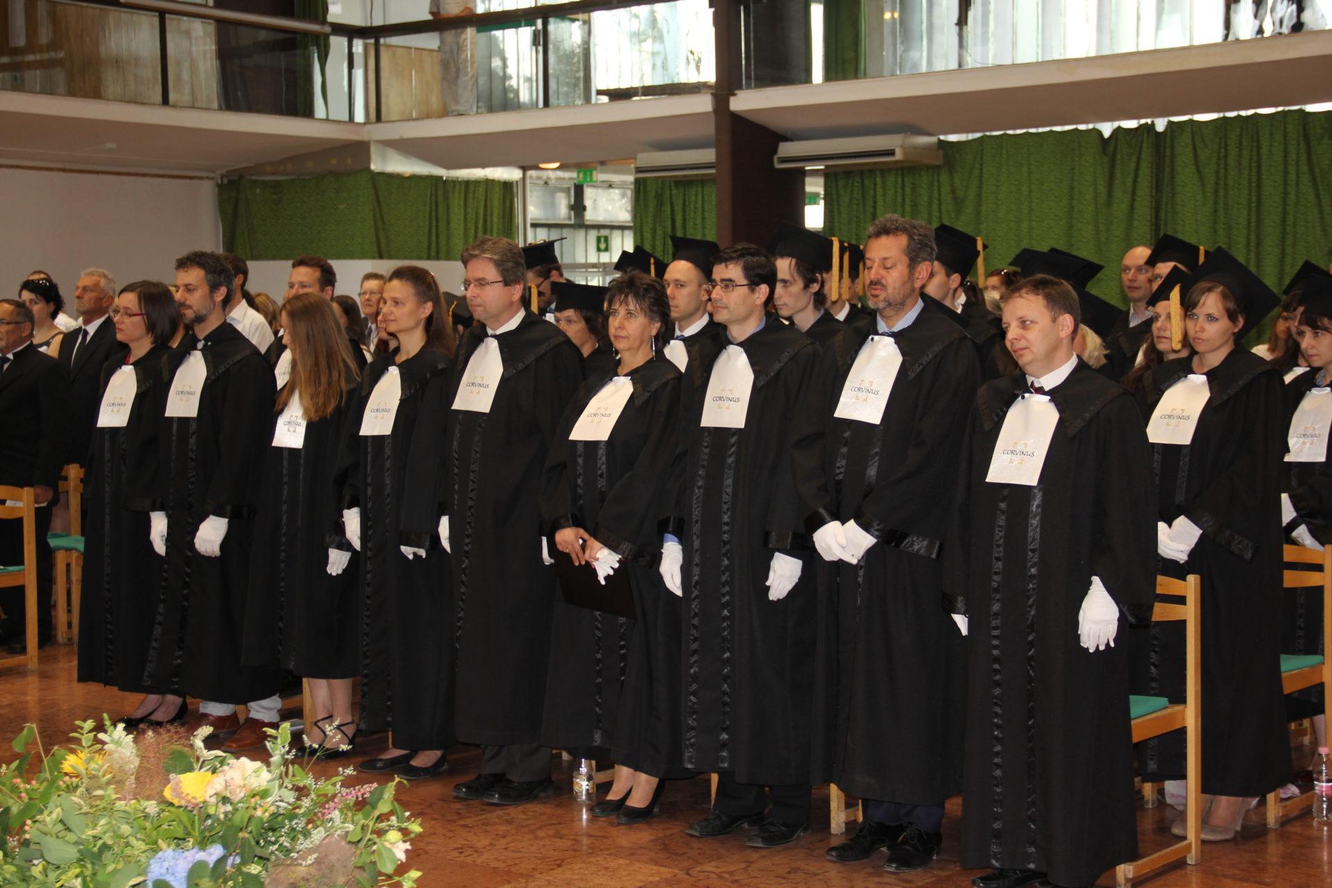 Doktorrá avatás, Budai campus, Corvinus