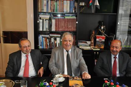 Jordán delegáció, Corvinus