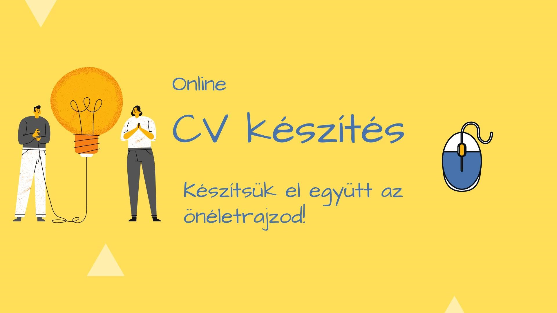 CV készítés