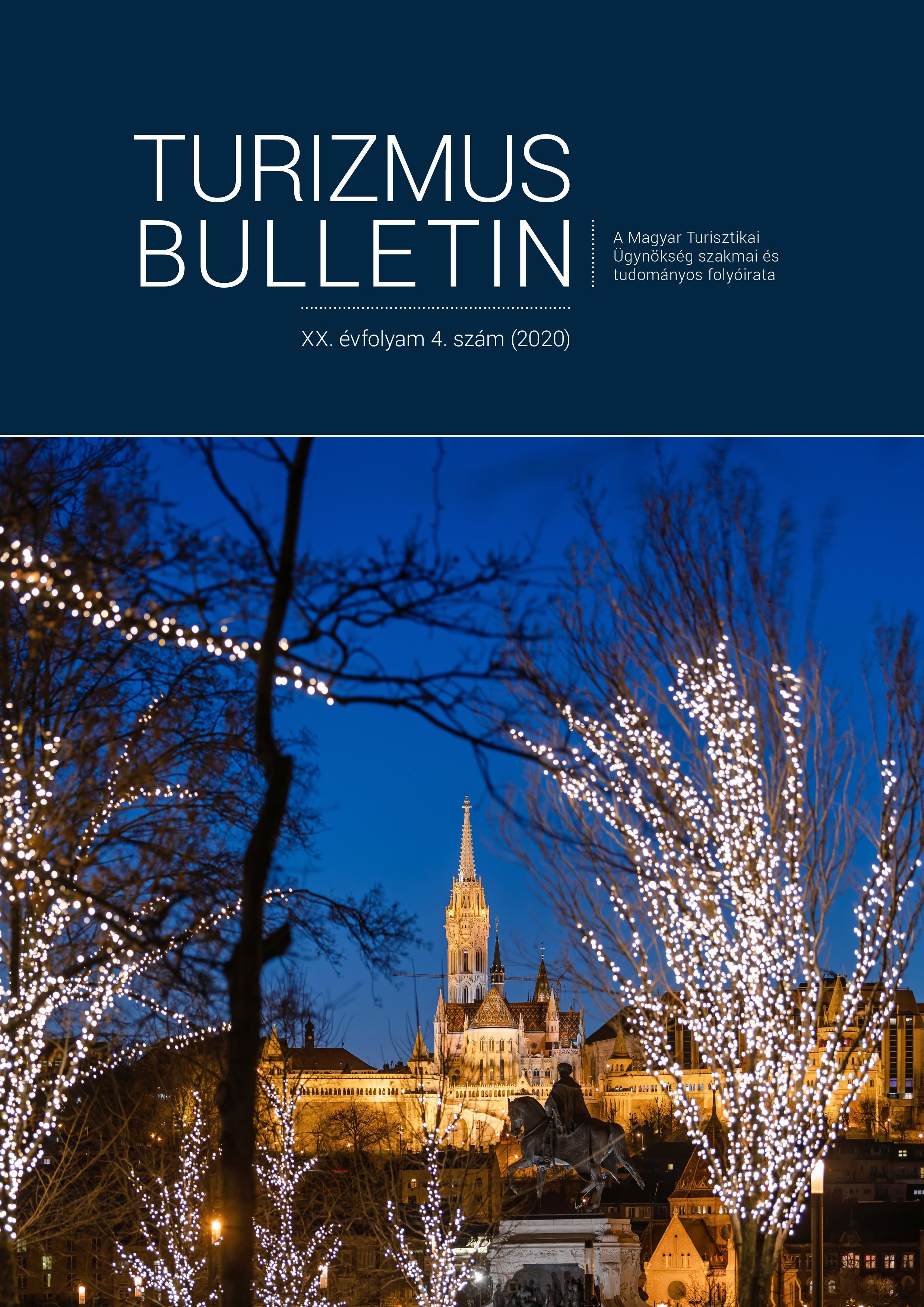 Turizmus Bulletin 2020. 4. szám
