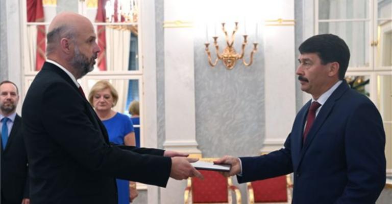 Takáts Előd rektori kinevezés MTI