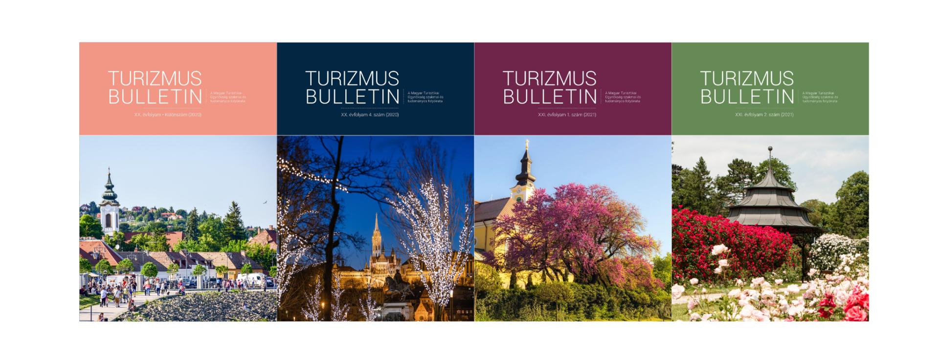Webes borító - Turizmus Bulletin 2021/2. számmal